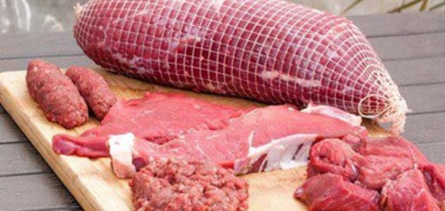 ما الفرق بين لحم العجل ولحم البقر موضوع