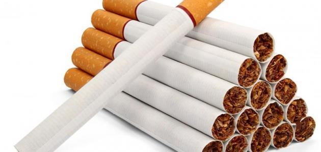 دراسة عن التدخين موضوع