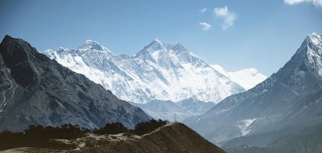 أعلى جبال في العالم موضوع