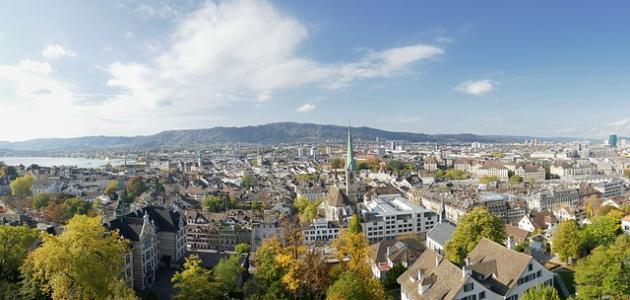 أكبر مدينة سويسرية من حيث عدد السكان موضوع