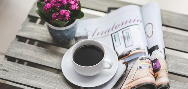 كلمات عن القهوة السوداء موضوع