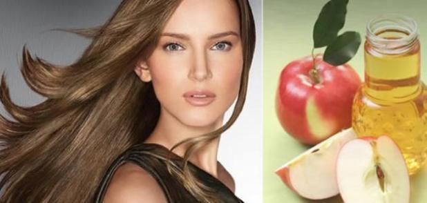 نتيجة بحث الصور عن خل التفاح للشعر