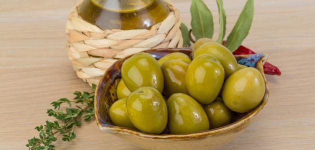 طريقة كبس الزيتون الأخضر على الطريقة الفلسطينية موضوع