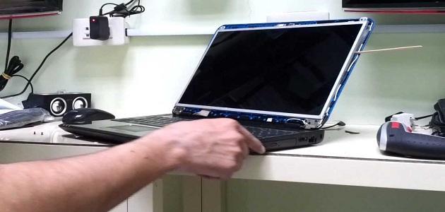 كيف أصلح شاشة الكمبيوتر موضوع