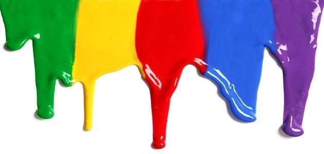 طريقة خلط الألوان موضوع