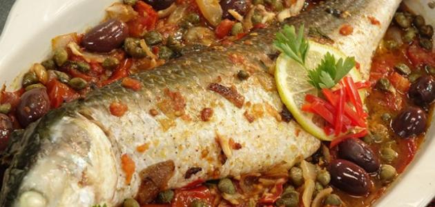 طريقة عمل صينية السمك موضوع