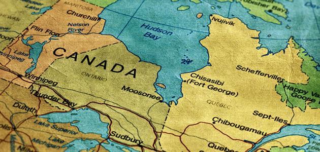 في أي قارة تقع كندا موضوع