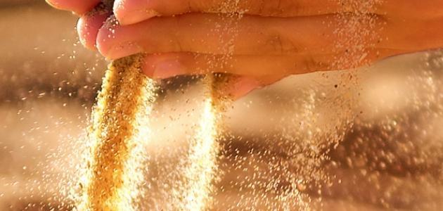 يعد مخلوط برادة الحديد مع الرمل من المواد النقية