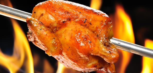 خلطة الدجاج المشوي موضوع