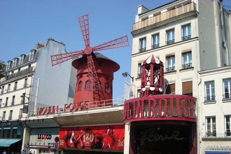 Entrada Moulin Rouge