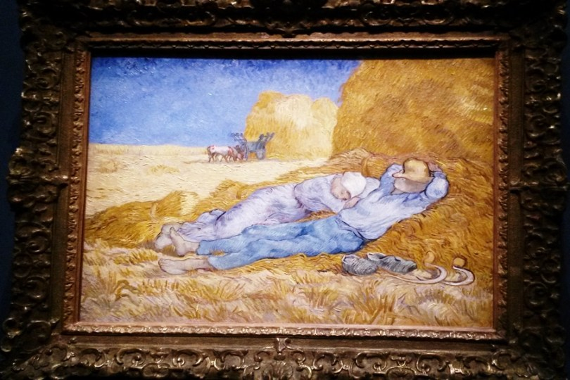 A sesta - Van Gogh.
