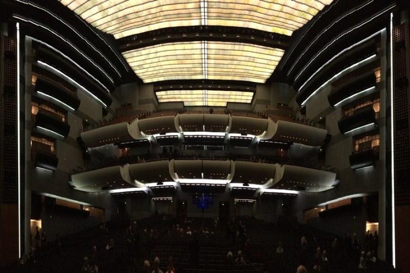 Opera Bastille - Interior.