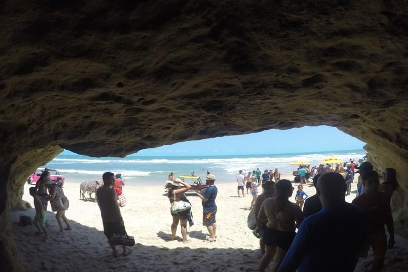 Gruta - Praia das Fontes