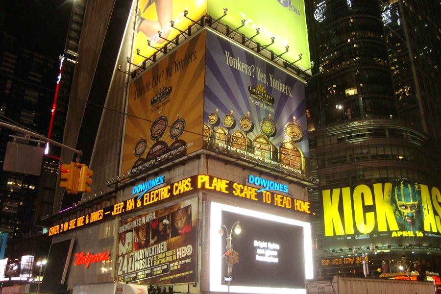 Times Square Reluzente