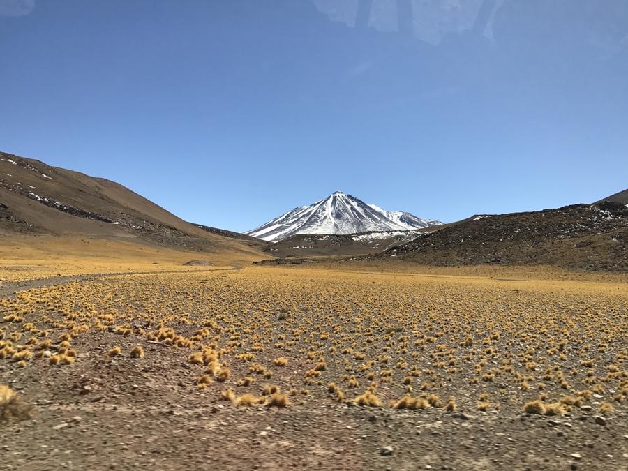Atacama - Imponente vulcão