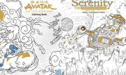 Saldrán libros de colorear para adultos de Avatar y Serenity