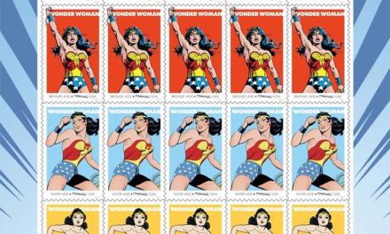 SDCC: Servicio postal de EE.UU conmemora aniversario de Wonder Woman