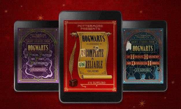 Pottermore presenta nuevos e-books sobre Hogwarts