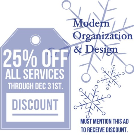 25% OFF ALL MOD SERVICES