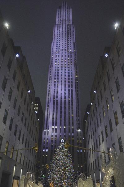 que ver en nueva york guía nueva york rockefeller center navidad