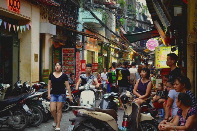 Old Quarter. Qué hacer en Hanoi en 4 días