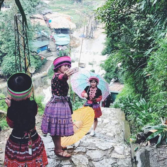 Visitar Cat Cat Village en Sapa