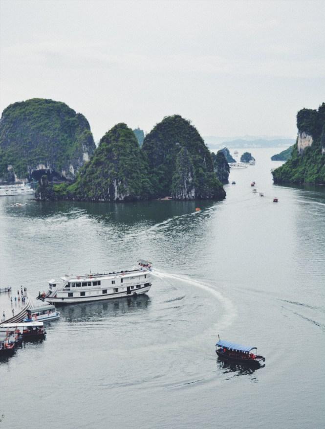 Crucero por Halong Bay