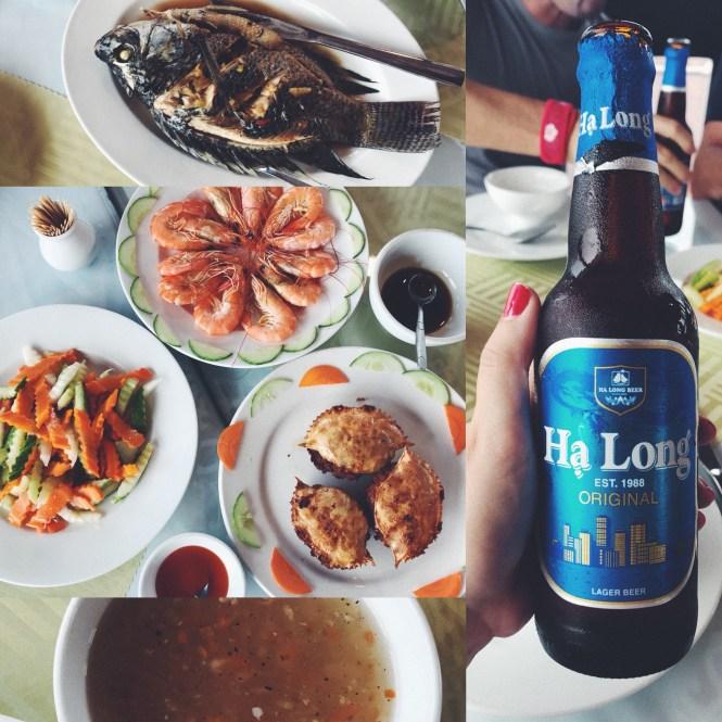 Gastronomía vietnamita en crucero por Halong Bay