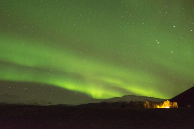 roadtrip por Islandia - ver una aurora boreal