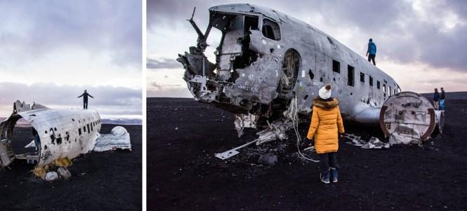 Avion Abandonado Islandia Sur
