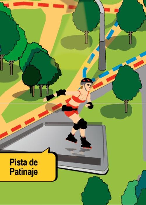 ilustración diseño gráfico ciudad real patronato de deportes 6