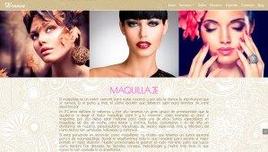 Diseño de páginas web en puertollano. Ciudad Real. D-canos estilistas