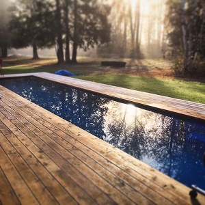 Modpool, swimming pools made from shipping containers