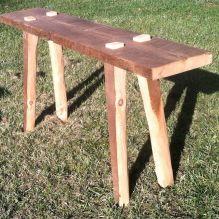 Trinity Console Table. A Modern Rustic Original