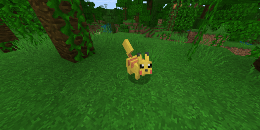 Мод Pokemon 1.16
