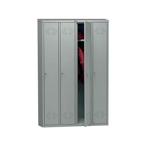 Шкаф для раздевалки LS-41 ПРАКТИК