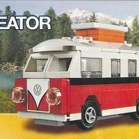 LEGO Mini VW T1 Camper Van Instructions 40079