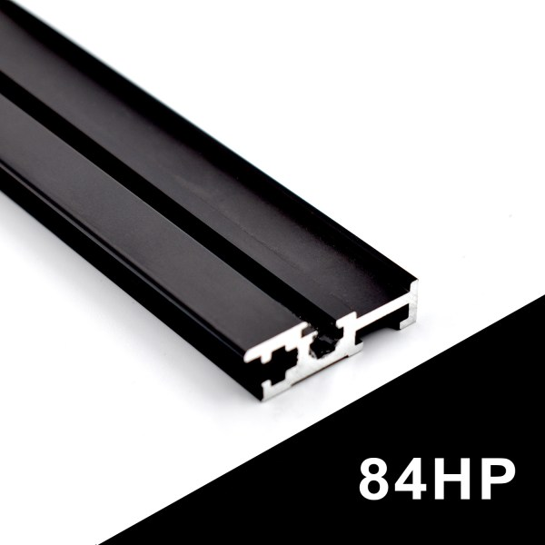 84HP BLACK EURORACK RAILS