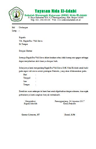 Cara Membuat Surat Di Microsoft Word Modul Komputer