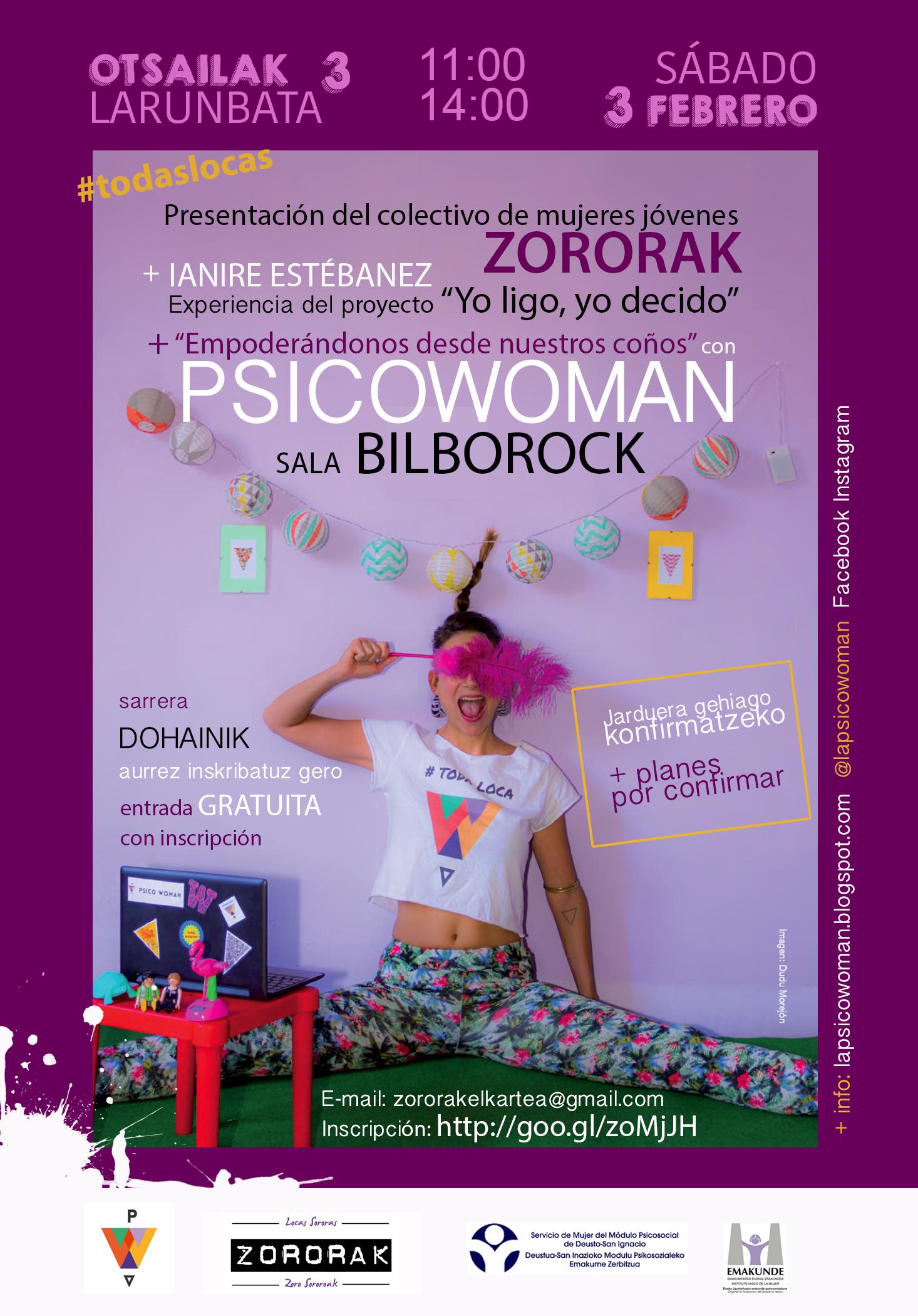 Cartel psicowoman