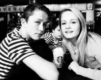 Kjæresteparet Erik og Julie
