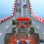 Impossible Monster Stunts Car Driving Games APK MODs Unlimited money free Download on Android