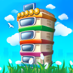 Pocket Tower Building Game Megapolis Kings 3.9.14 APK MODs Unlimited money free Download on Android