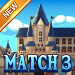 Jewel Royal Castle Match3 puzzle 1.9.0 APK MODs Unlimited money free Download on Android