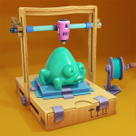 My 3D Printer – Start idle business in garage 0.9 APK MODs Unlimited money free Download on Android
