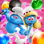 Smurfs Bubble Shooter Story 3.03.040105 APK MODs Unlimited money free Download on Android