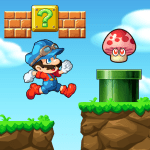 Super Machino go world adventure game 1.32.1 APK MODs Unlimited money free Download on Android