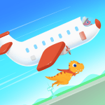 Dinosaur Airport – Flight simulator Games for kids 1.0.8 APK MODs Unlimited money Download on Android