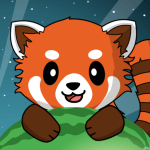 Red Panda Casual Slingshot Animal Logic Game 1.0.3 APK MODs Unlimited money Download on Android