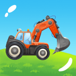 Build a House with Building Trucks Games for Kids 1.17 APK MODs Unlimited money Download on Android